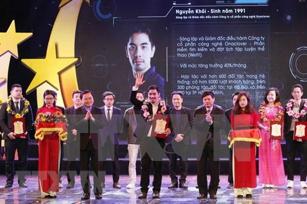 Honran a 10 jovenes destacados de Hanoi en 2017 hinh anh 1