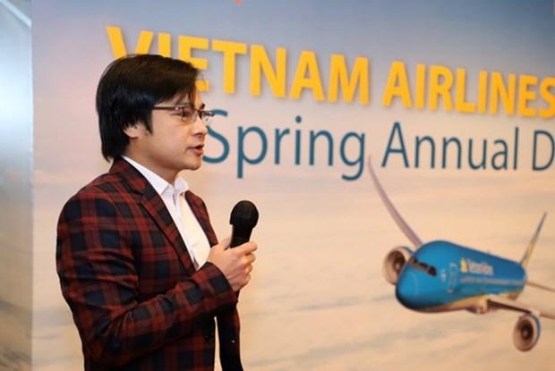 Vietnam Airlines en Hong Kong (China) impulsara cooperacion con contrapartes internacionales hinh anh 1