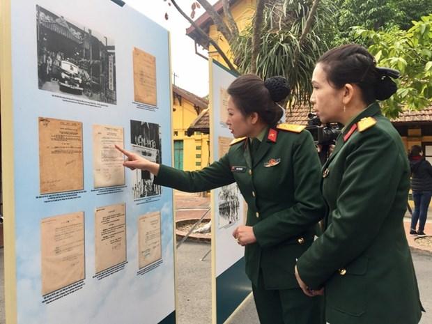 Exponen coleccion de edictos de Gobierno interino de la Republica Democrata de Vietnam 1945-1946 hinh anh 1