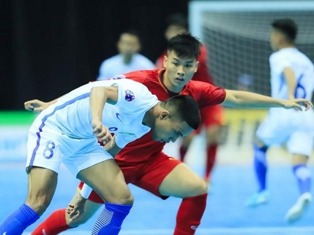 Vietnam derrotado por Malasia en Campeonato Asiatico de futsal 2018 hinh anh 1