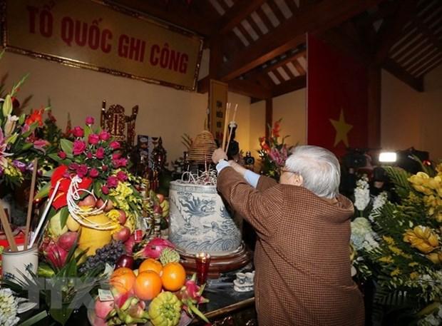Homenajean a exdirigente del Partido Comunista de Vietnam hinh anh 1