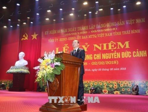 Conmemoran natalicio de exdirigente del Partido Comunista de Vietnam hinh anh 1