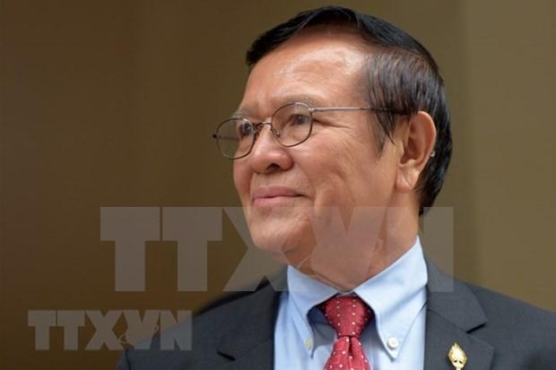 Tribunal camboyano rechaza fianza a exlider opositor hinh anh 1