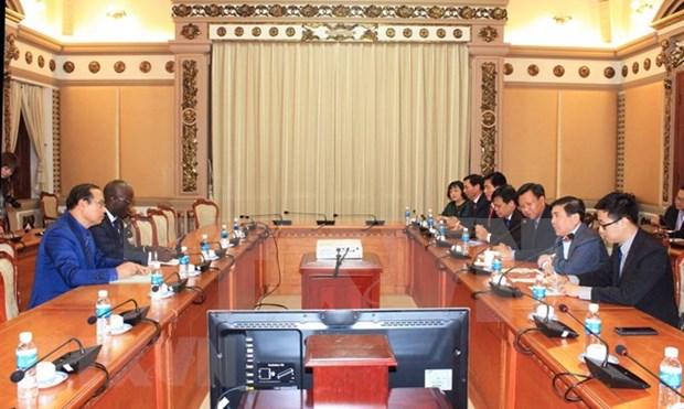 Ciudad Ho Chi Minh pide al Banco Mundial colaboracion para el establecimiento de urbe creativa hinh anh 1