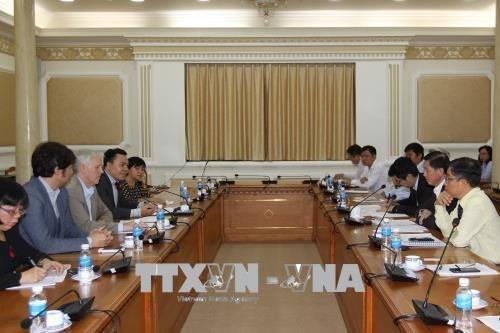 BAD se compromete a respaldar desarrollo de la infraestructura de Ciudad Ho Chi Minh hinh anh 1
