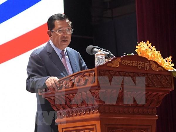 Gobierno de Camboya aprueba borrador de enmienda constitucional hinh anh 1