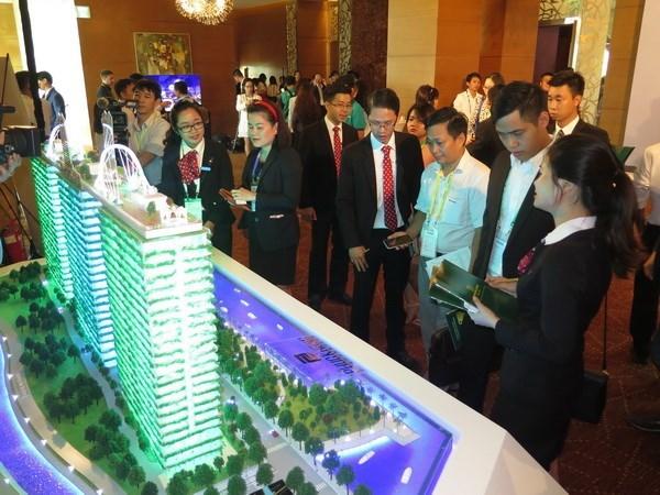 Sector inmobiliario de Vietnam: uno de los tres campos mas atractivos de los inversores extranjeros hinh anh 1