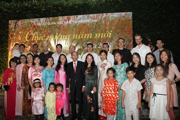 Comunidad vietnamita en Argentina celebra Fiesta del Nuevo Ano Lunar hinh anh 2