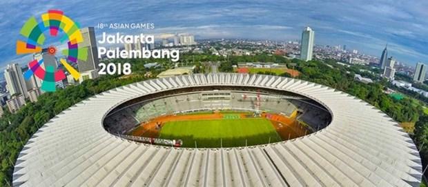 Indonesia avanza en preparacion de infraestructura para los ASIAD 2018 hinh anh 1