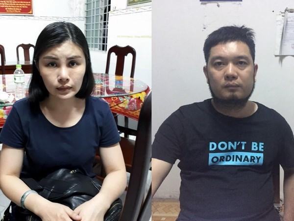 Detienen en Vietnam a estafadores buscados por policia china hinh anh 1