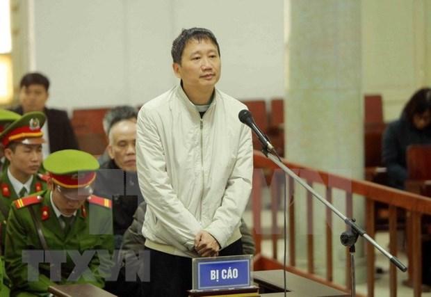 Trinh Xuan Thanh recibe segunda cadena perpetua hinh anh 1