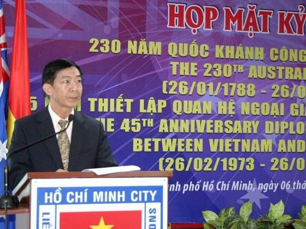 Celebran Dia nacional de Australia en Ciudad Ho Chi Minh hinh anh 1
