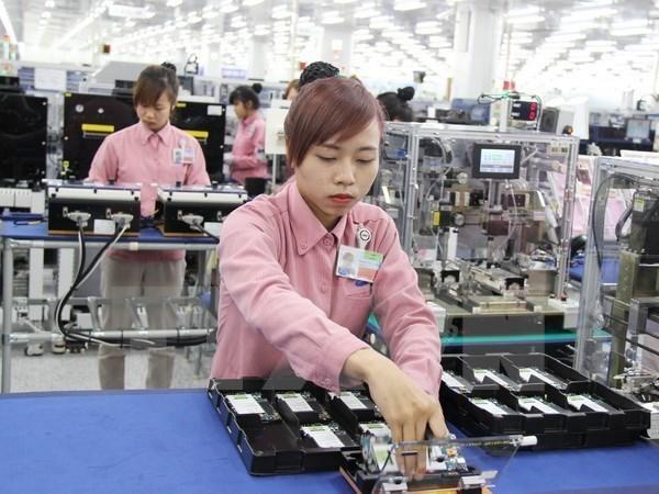 Fuerte demanda en visperas del Tet apoya el crecimiento industrial en enero hinh anh 1