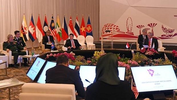 ASEAN y China ejecutaran ejercicios conjuntos en el mar hinh anh 1