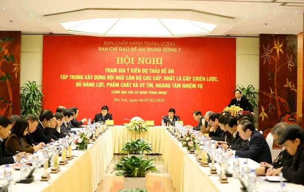 Vietnam busca crear cambios cruciales en la formacion del personal del Partido hinh anh 1