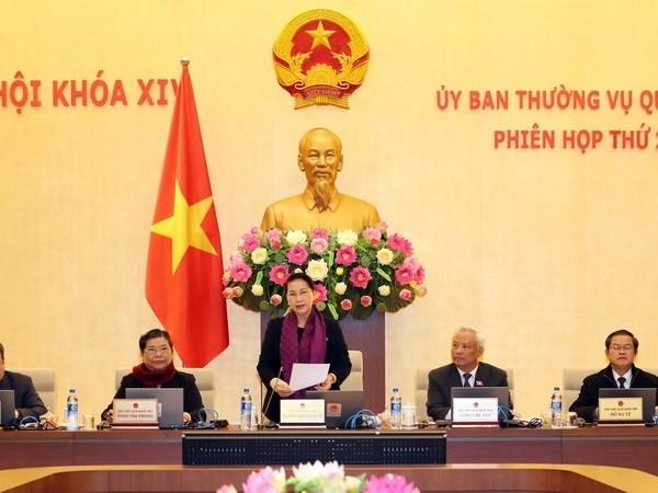 Comite Permanente de Asamblea Nacional de Vietnam celebra su XXI reunion hinh anh 1