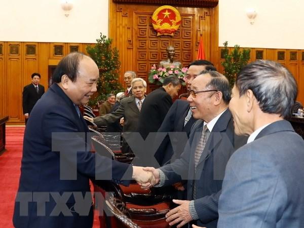 Apoyo de Vietnam a Camboya es desinteresado, destaco premier vietnamita hinh anh 1