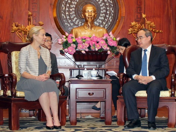 Ciudad Ho Chi Minh y Paises Bajos impulsan colaboracion contra inundaciones hinh anh 1