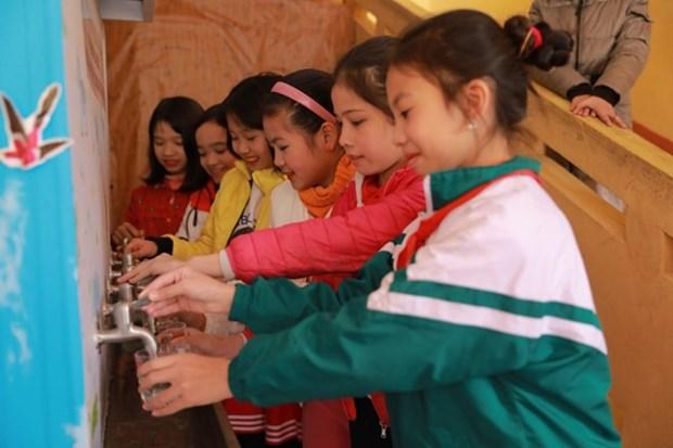Samsung construye inodoros estandares para escuelas vietnamitas hinh anh 1