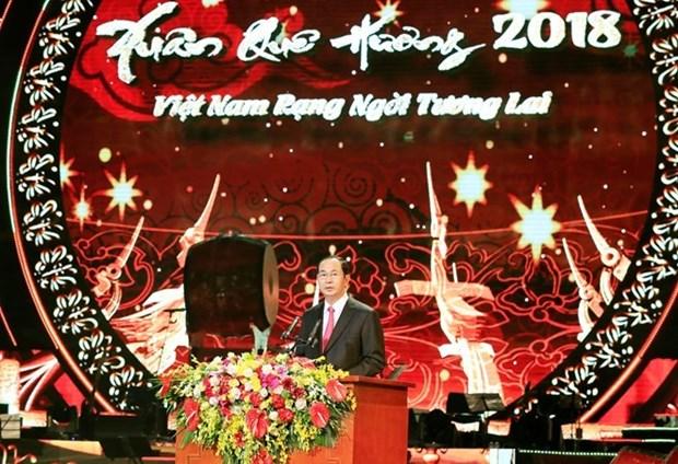 Vietnam da la bienvenida a connacionales residentes en ultramar, afirma presidente hinh anh 1