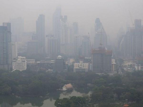 Bangkok en alerta por contaminacion del aire hinh anh 1