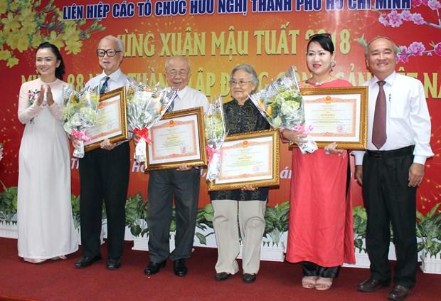 Impulsan diplomacia popular para el desarrollo de Ciudad Ho Chi Minh hinh anh 1