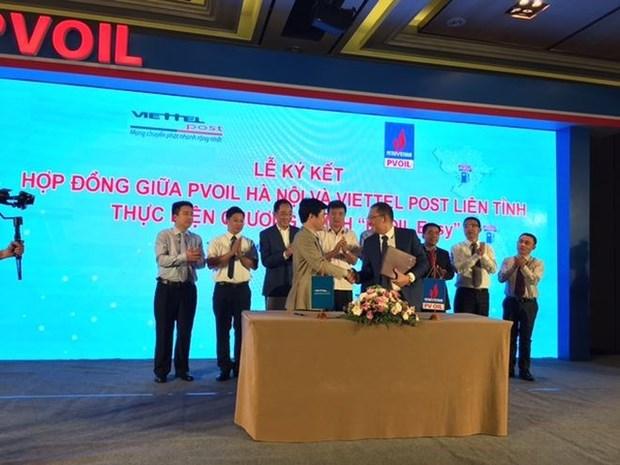 PV Oil lanza aplicacion de pago sin efectivo para conductores hinh anh 1