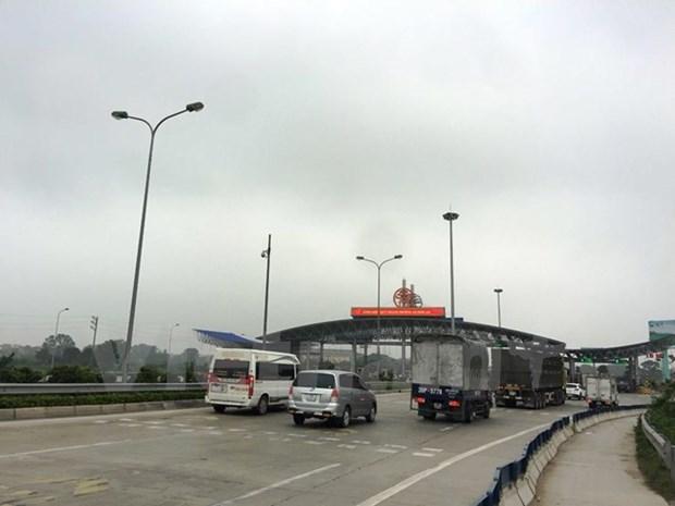 Aceleran progreso de construccion de autopista en provincia septentrional vietnamita hinh anh 1