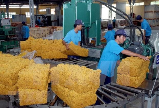 Grupo de Caucho de Vietnam busca mayores ganancias hinh anh 1
