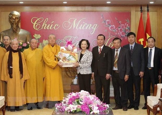 Budismo acompana junto con pueblo vietnamita hinh anh 1