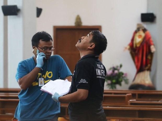 Ataque con espada deja cuatro heridos en Indonesia hinh anh 1