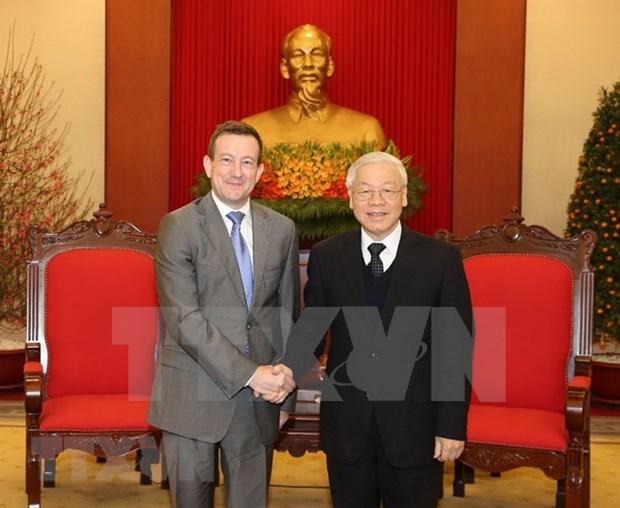 Destacan intereses compartidos de Vietnam y Francia hinh anh 1