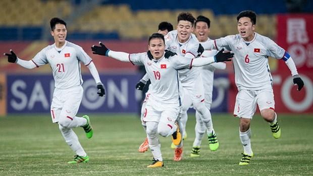 Concurso fotografico destaca preciosos momentos vividos por el equipo sub-23 de Vietnam hinh anh 1