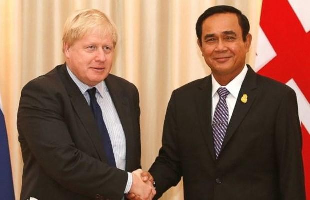 Ministro de Asuntos Exteriores del Reino Unido visita Tailandia hinh anh 1