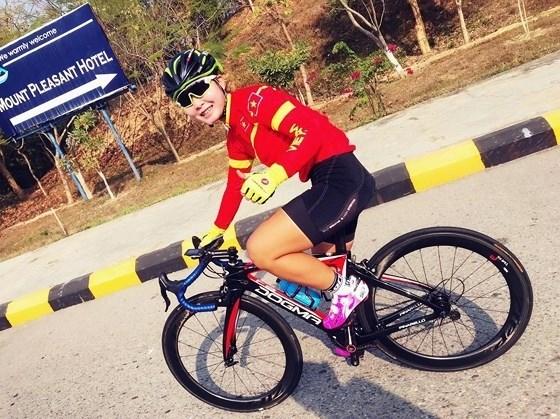 Vietnam gana otra medalla en competencia asiatica de ciclismo hinh anh 1