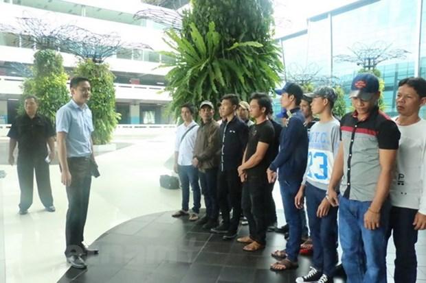 Indonesia repatria a mas pescadores vietnamitas hinh anh 1