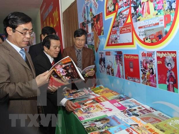 Celebran en Vietnam festivales de prensa del Tet 2018. hinh anh 1
