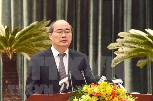 Ciudad Ho Chi Minh perfecciona mecanismos institucionales para su desarrollo hinh anh 1