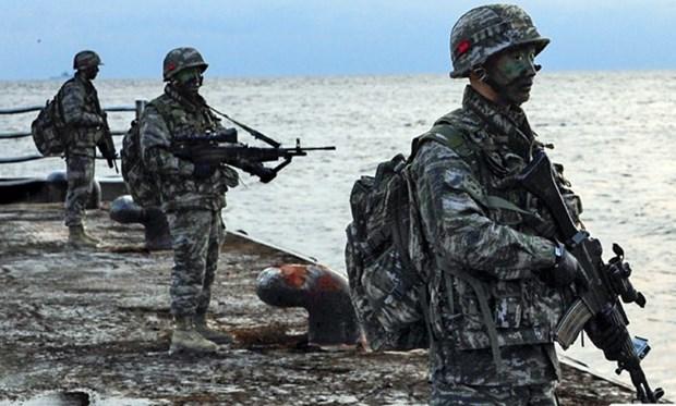 Paises en Asia- Pacifico participan en ejercicio militar multinacional hinh anh 1