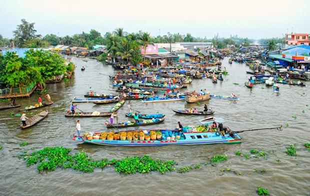 Exploran provincia surena de Hau Giang, tierra de rios y canales hinh anh 1