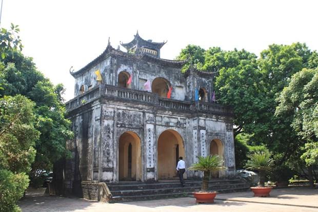 Templo de la literatura de Xich Dang: simbolo cultural destacado de Vietnam hinh anh 1