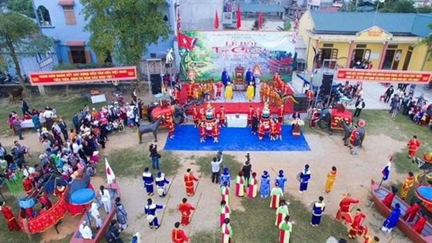 Tro Chieng – Festival mas esperado en Thanh Hoa hinh anh 1