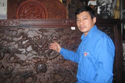 Nguyen Tran Hiep, artesano nacional mas joven de Vietnam hinh anh 1