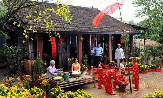 Costumbre vietnamita en Nuevo Ano Lunar hinh anh 1