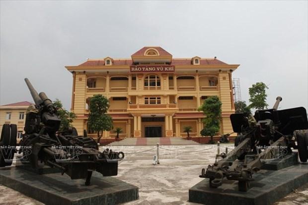 Museo de Armas de Vietnam, destino interesante para turistas en Hanoi  hinh anh 1