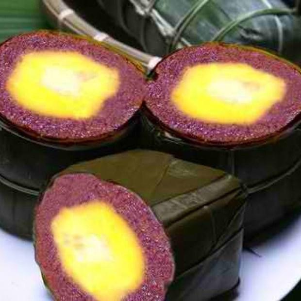 Banh Tet La Cam, tradicional pastel de arroz hinh anh 1