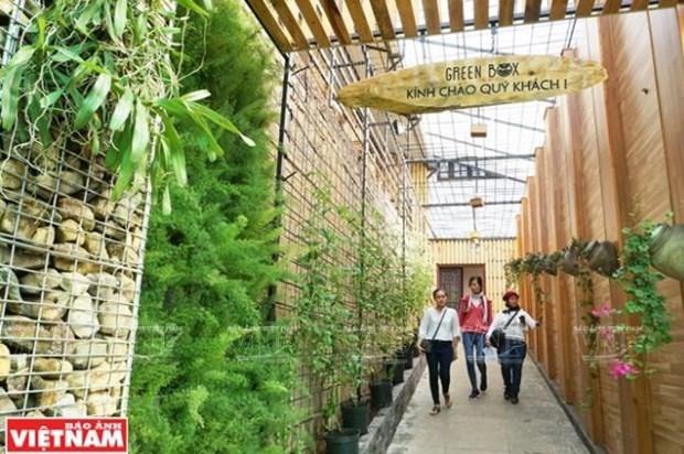 Green Box, nuevo modelo de agroturismo en Da Lat hinh anh 1