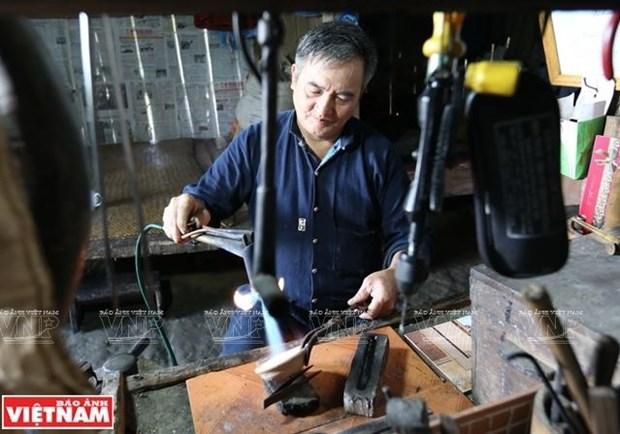 El ultimo grabador de plata en la montana Po Ly Ngai hinh anh 1