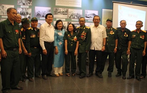 Destacan en Vietnam contribuciones de combatientes revolucionarios hinh anh 1