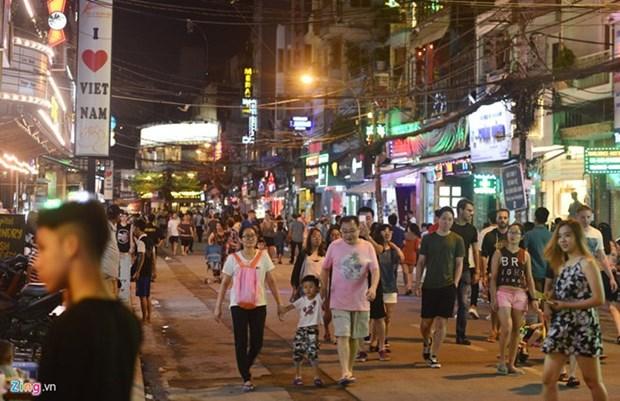 """Bui Vien, """"calle de extranjeros"""" en Ciudad Ho Chi Minh hinh anh 1"""